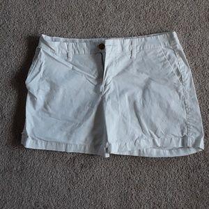 White old navy shorts size 4